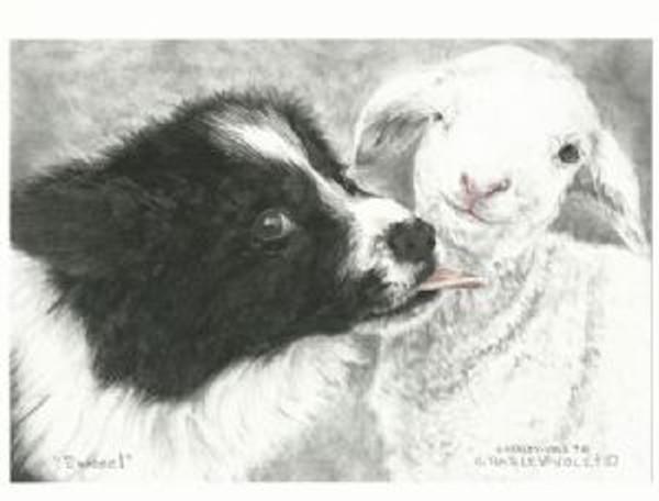 Ewwweee! Print by Cheryl Harley-Volzt