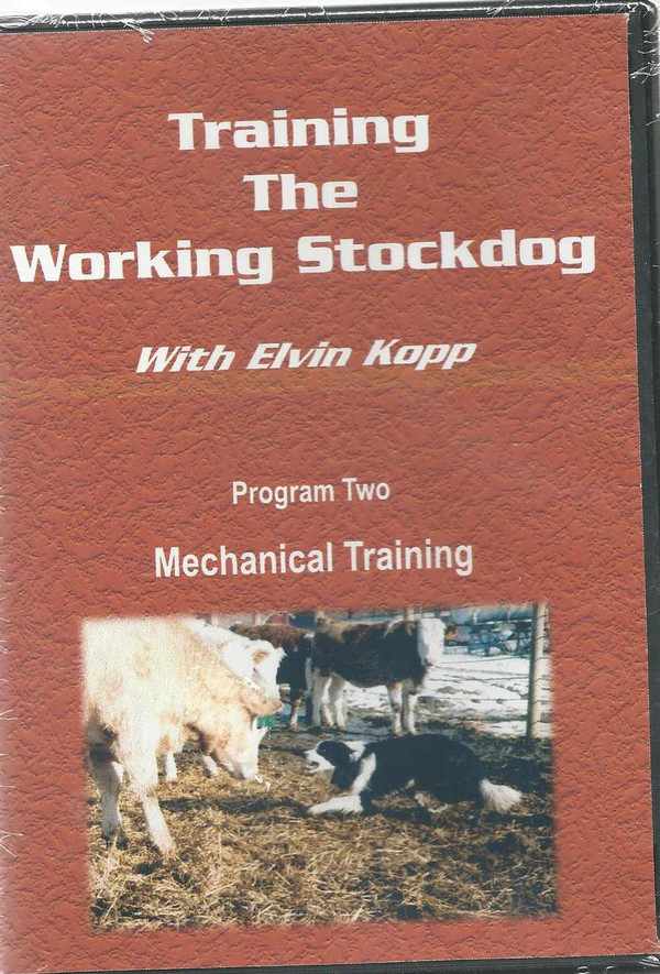 Training the working Stockdog - Program 2 - Mechanical training