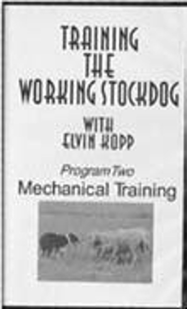 Training the Working Stockdog Tape 2 DVD