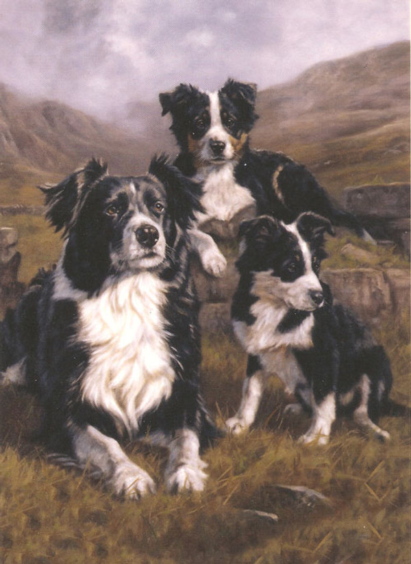 """The Apprentices"""" Note Card by John Trickett"""