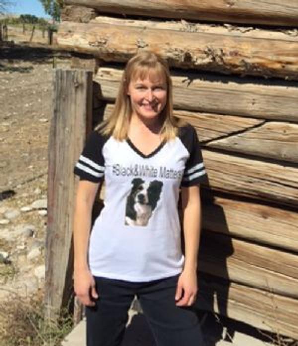 Black & White Matters Womens T-shirt