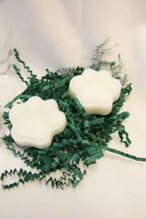 Dog Paw Gift Pack Soap - White
