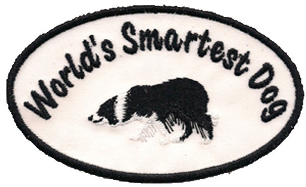 """World's Smartest Dog"" Patch"