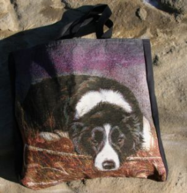 Border Collie Tote Bag