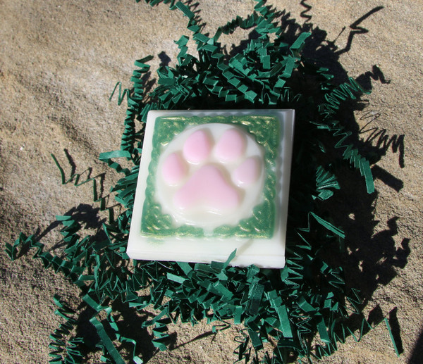 Peppermint Dog Paw Soap