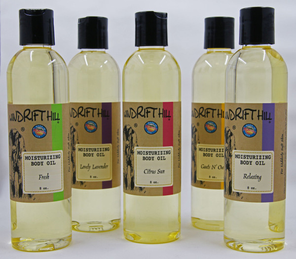 Goat Milk Moisturizing Body Oil