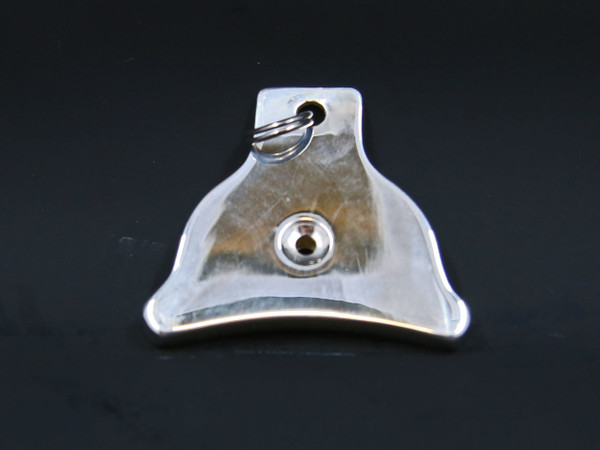 Plain Sterling Silver Whistle