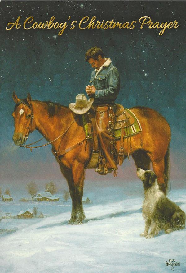 A Cowboys Christmas Prayer