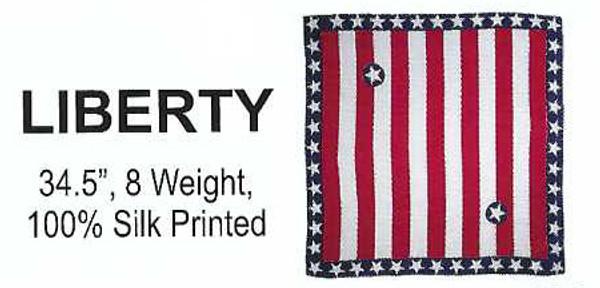 Liberty Scarf - 100% Silk Scarf