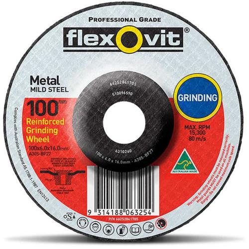 FLEXOVIT GRINDING 102X16X6