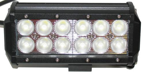LIGHTBAR 36W 12 LED 165MM FLOOD