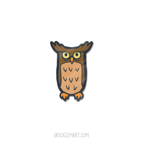 GrickOwl Pin