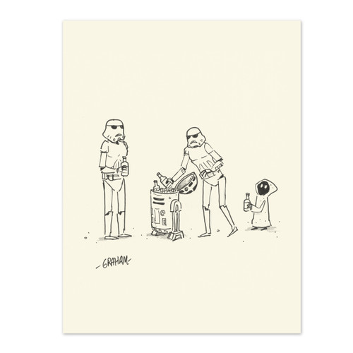 Party Trooper Print