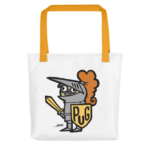 Sir Pugsalot Tote Bag