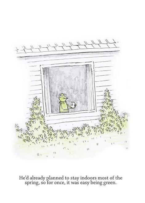 Kermit in Quarantine