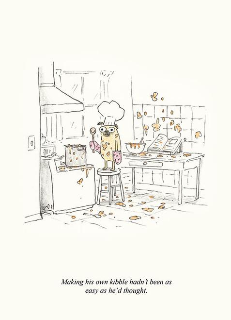 Pug Chef Print
