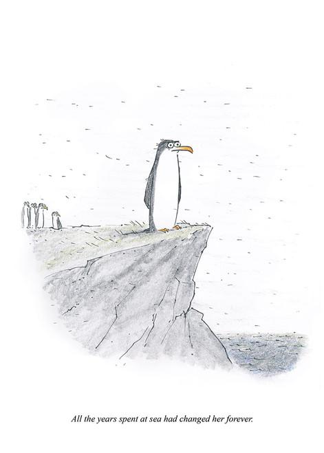 Sea Penguin Print