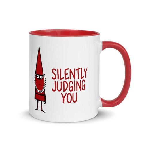 Silently Judging You - Premium Mug