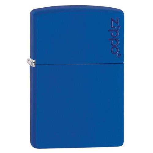 Personalised Blue Matte Genuine Zippo Lighter