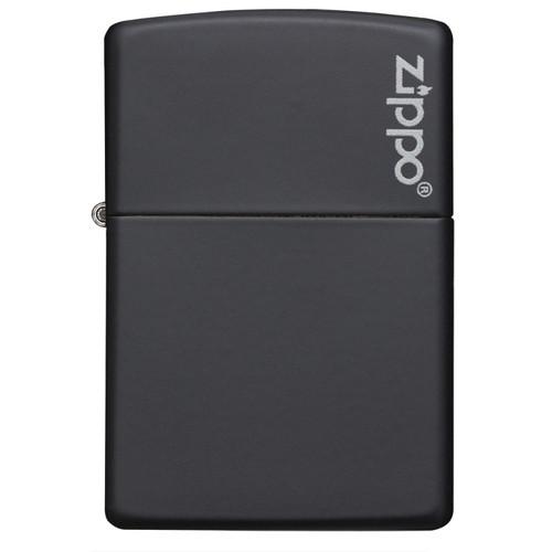 Personalised Black Matte Genuine Zippo Lighter