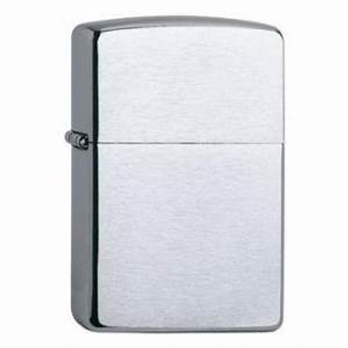 Personalised 200 Brushed Chrome Genuine Zippo Lighter