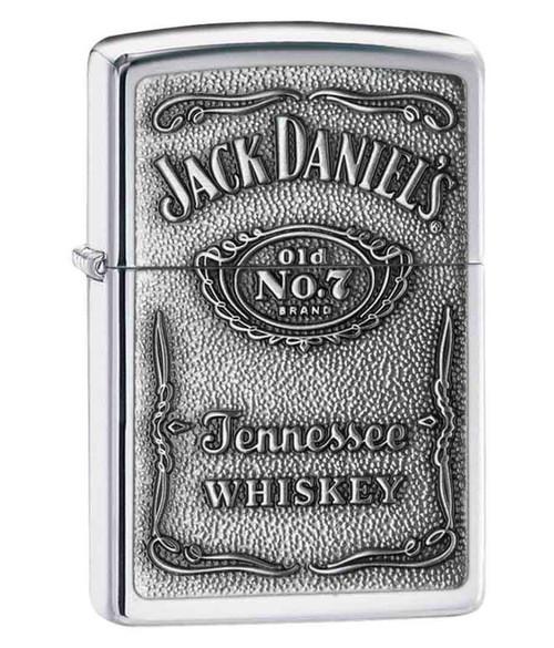 Personalised Jack Daniels Pewter Genuine Zippo Lighter