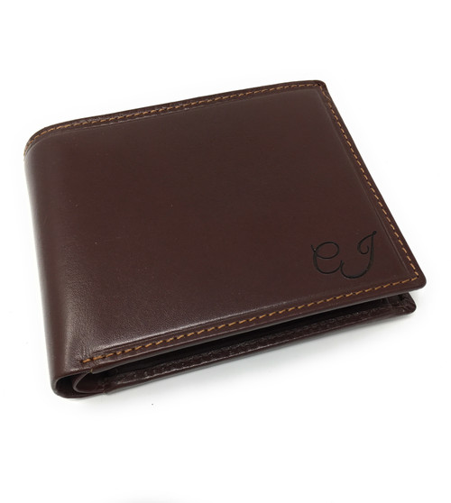 Personalised Luxury Vegetable Tanned Lazio Leather Wallet (Best Seller)