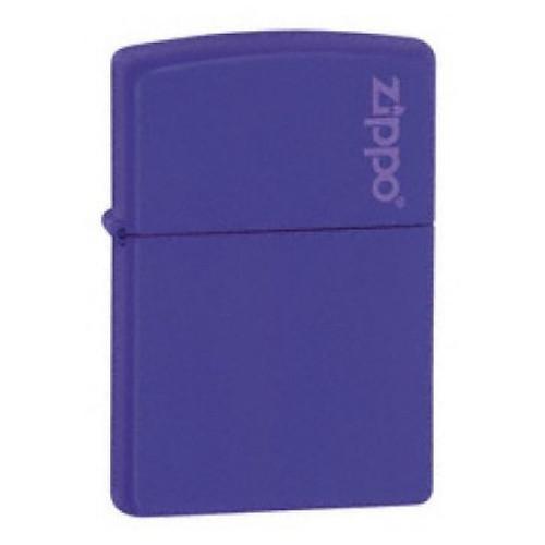 Personalised Purple Matte Genuine Zippo Lighter