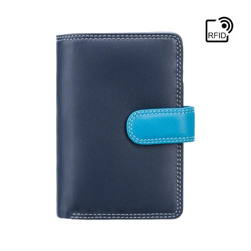 Personalised RFID Luxury Blue Cash & Coin Purse (Best Seller)