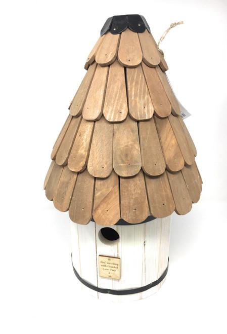 Personalised Dovecoat Style Bird Nest Box