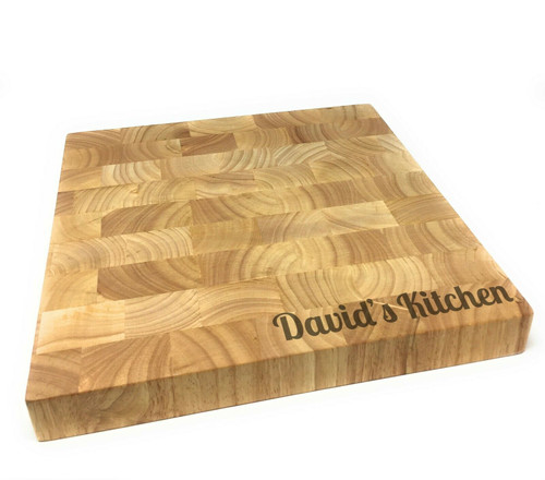 Personalised Heveawood Square Chopping Board (BestSeller)