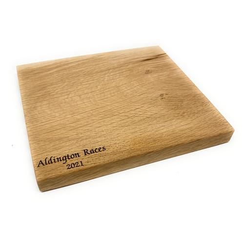 Personalised Small Scottish Oak Chopping Board