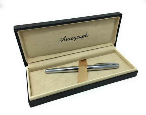 Personalised Chrome Autograph Roller Ball Pen (Best Seller)