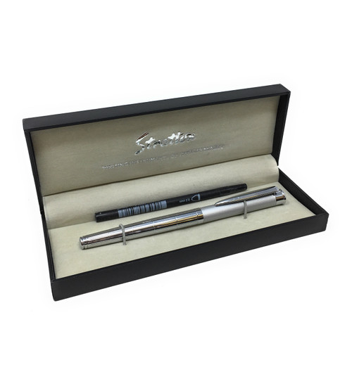 Personalised Stratton 2 Tone Rollerball Pen
