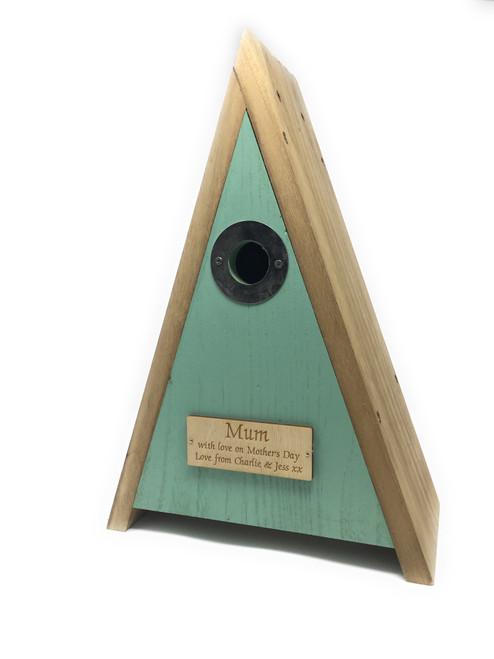 Personalised Wildlife World Bird House Nesting Box