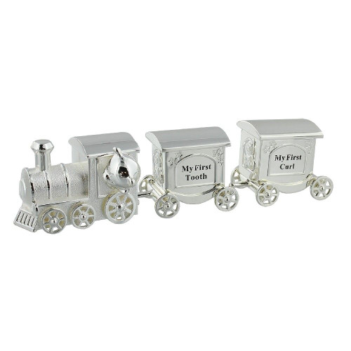 Personalised First Tooth & Curl Train Set