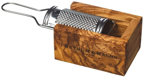 Personalised Olive Wood Cheese Grater Gift Set