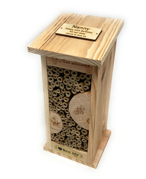 Personalised Medium Sized Insect house