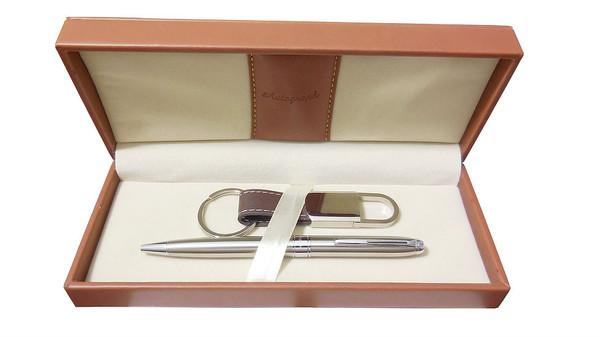 Personalised Autograph Tan Pen & Keyring Gift Set - Best Man & Usher Gift (Best Seller)