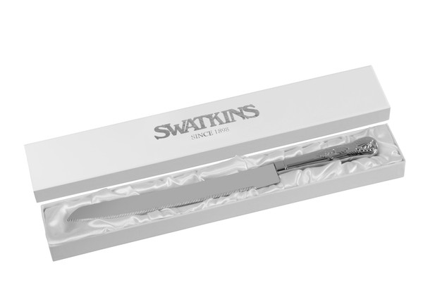 Personalised Kings Pattern Wedding Cake Knife
