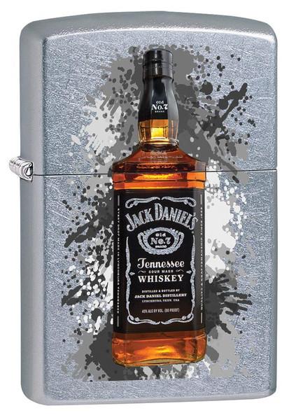Personalised Jack Daniels Street Chrome Zippo Lighter