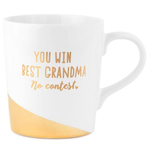 Best Grandma No Contest Mug, 13 oz.