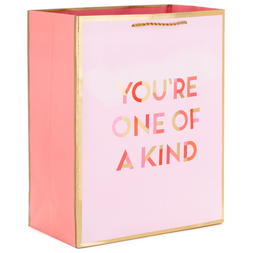 "13"" You're One of a Kind Gift Bag"