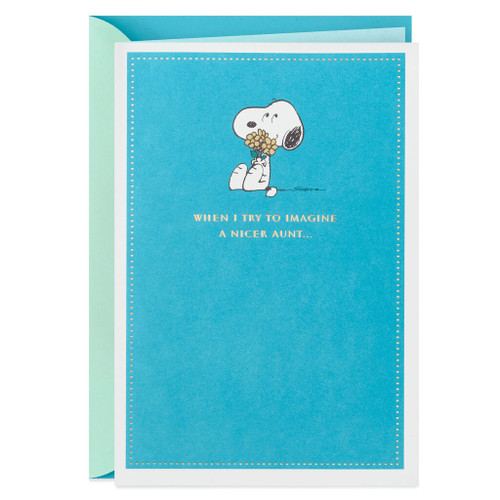 Peanuts® Snoopy You Are Just So Nice Mother's Day Card for Aunt