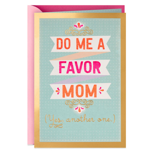 Another Favor Mother's Day Card