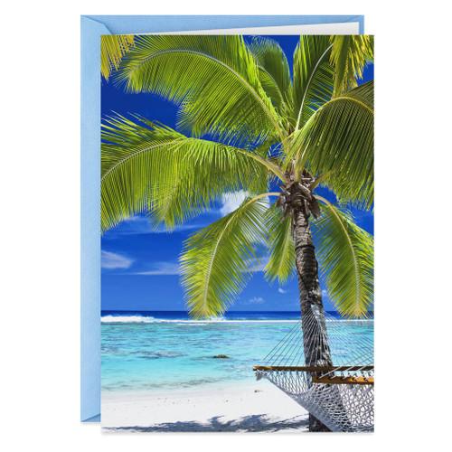 A Beach Vacation Funny Birthday Card