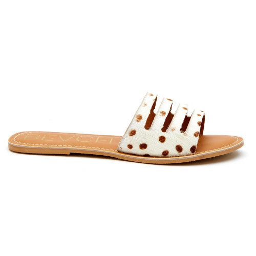 Boardwalk Sandal in Brown Spot