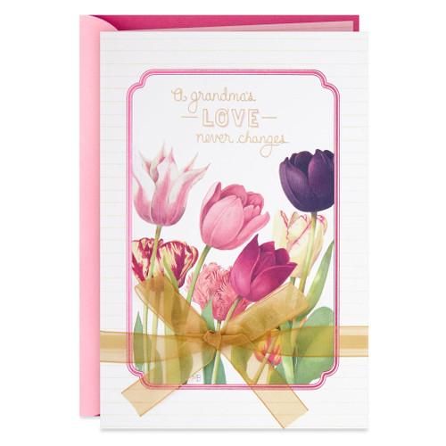 Marjolein Bastin Tulips Mother's Day Card for Grandma