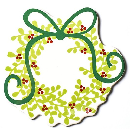 Coton Colors Happy Everything Boxwood Wreath Big Attachment