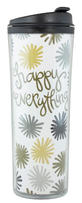 Coton Colors Happy Everything Pom Happy Everything 16 oz Travel Mug